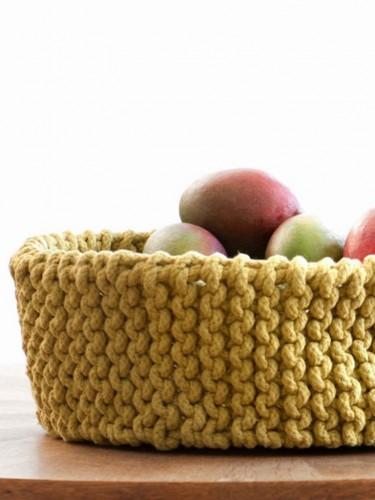 Ferm Living - Designerski kosz na owoce
