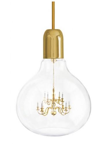 Lampa Mineheart - King Edison XII - Gold
