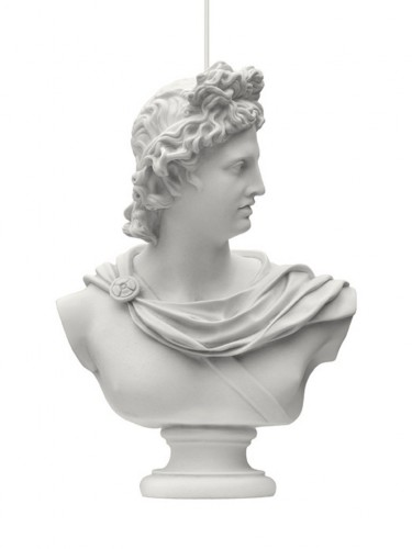 Mineheart - Lampa rzeźba - Hero