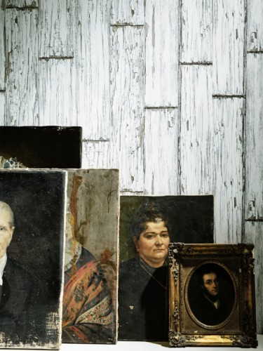 Christophe Koziel - Tapeta ścienna - Stare, zniszczone deski 10m
