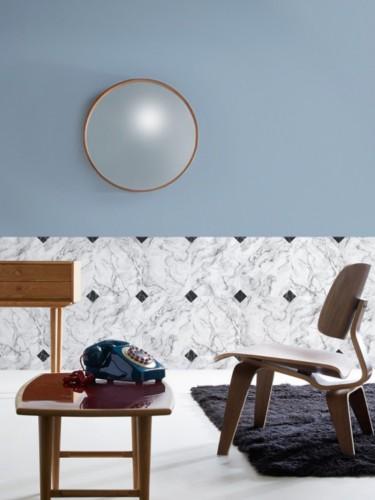 Tapeta Koziel 10m - Imitacja marmuru