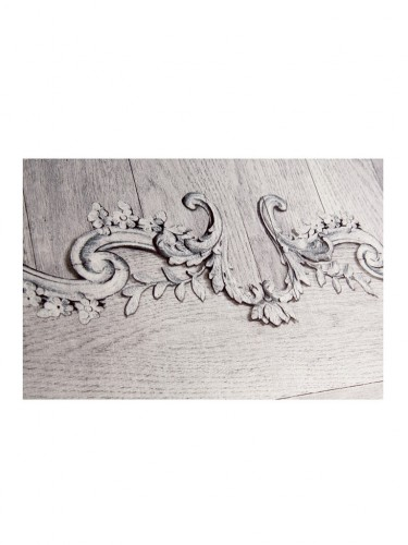 Tapeta aksamitna - Panel ścienny - Louis XV