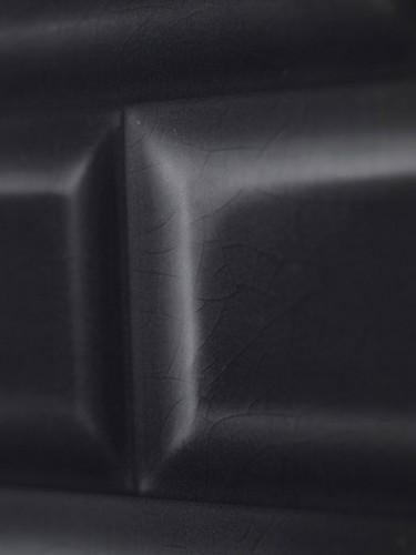 Tapeta ścienna w czarne płytki - Christophe Koziel