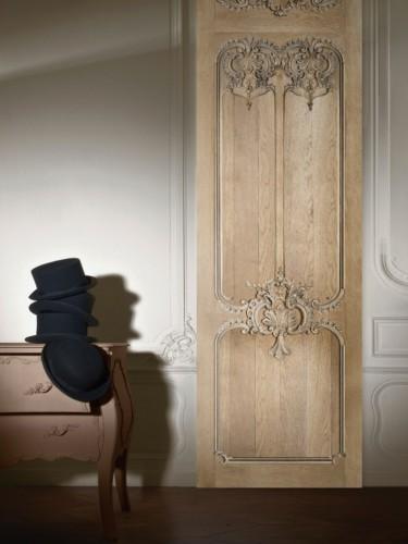 Tapeta stare dębowe drzwi