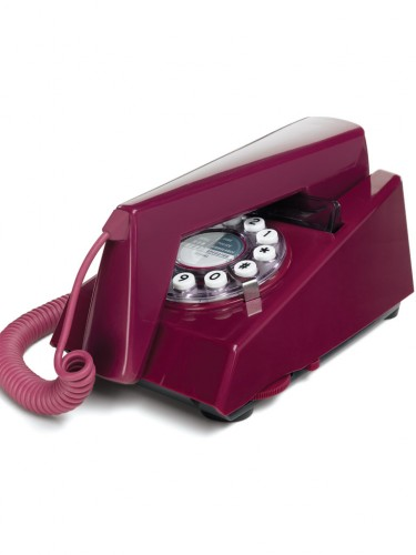 Telefony retro - fioletowy