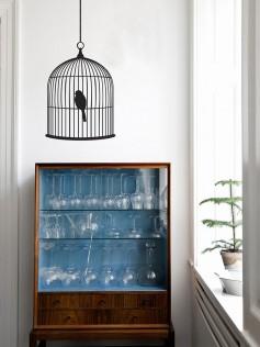 Naklejki Ferm Living – Klatka dla ptaków