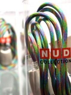 Lampa NUD - Kolorowe kable