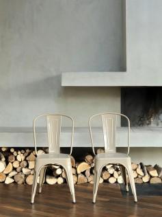 Tolix - Oryginalne krzesło do kafejki