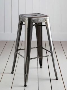 Tolix - Stołek barowy - H 75 cm
