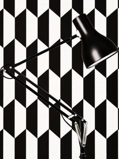 Unikatowa Lampa Anglepoise Type75 - czarna