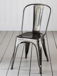 Tolix - Marais A Chair - Industrialne krzesło