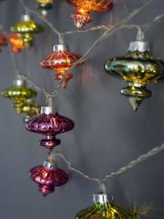Sznur szklanych lampek - Kasbah