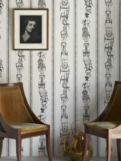 Barneby Gates - Tapety ścienne - Chairs