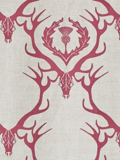 Barneby Gates - Tkaniny - Deer Damask