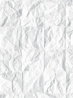 Tapeta Koziel - Biały, pognieciony papier 10m