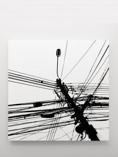 Duży obraz na płótnie  – Monochrome 140x140