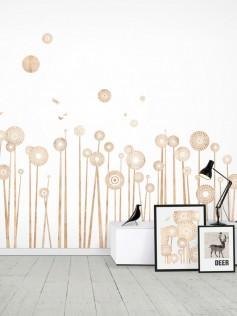 Funky Little Darlings – Naklejki ścienne – Kwiaty Polne