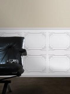 Koziel - Białe Panele - Ludwik XV 10m