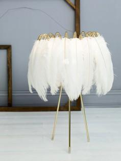 Mineheart - Lampa stojąca z piór