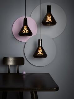 Lampa Plumen Czarna - Drop Top Lamp Shade (A) Set