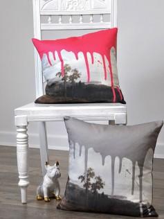 Artystyczna poduszka dekoracyjna