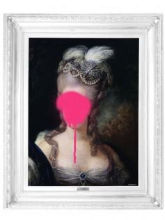Lady in Pink - Płótno Mineheart