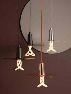 Lampa Plumen - Drop Hat Copper