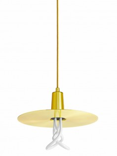 Lampa Plumen - Drop Hat Brass