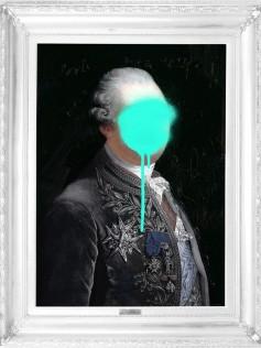 Monsieur Mint - Płótno Mineheart