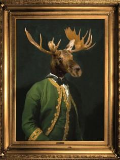 Lord Montague - Płótno Mineheart