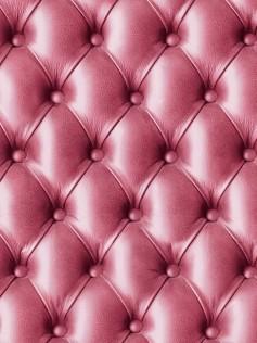 Tapety Koziel - Różowa pikowana skóra 10m
