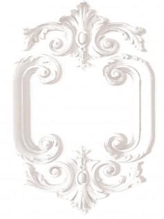 Koziel - Białe Panele - Medaillon Ludwik XV 10m