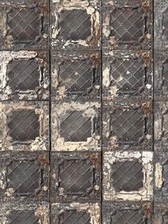 Tapeta vintage - Stare, podniszczone płytki