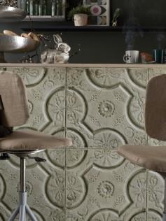 Ceramiczne tapety - Antique Beige Tin Tiles